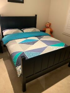 POTTERY BARN KIDS- CAMP DOUBLE BED WITH MATTRESS