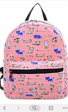 Your Gallery Girls Backpack ( Pink With Cat Pattern)
