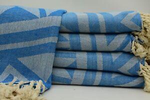 Back to listings Blue Color Turkish Bath Towel Aztec Towel Patterned Brc-Mtm5