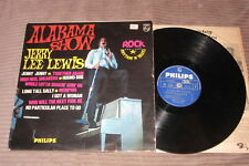 JERRY LEE LEWIS : Alabama Show - RARE Disque VINYL 33T. - BLUE PHILIPS FR. 1964