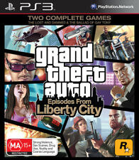 Grand Theft Auto GTA Episodes From Liberty City PS3 Game NEW