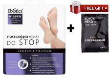 L'biotica Lbiotica Exfoliating Peel Feet 40ml 1 pair Sock Type Mask silcatil