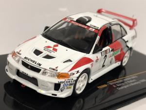 Mitsubishi Lancer Evo V Champions Meeting 1998 Richard Burns IXO 1:43 Scale