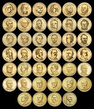 "COMPLETE Presidential Dollar Set ""Brilliant Uncirculated"" US (40 Coins Total)"