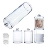 Clear Acrylic Storage Holder Box Transpares Makeup Organizer Case BG