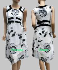 Mid-Calf Asymmetrical Hem Women's Dresses