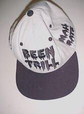 Been Trill Mall Ratz # # Adult Unisex White Black Wool Blend Baseball Cap 1 Size