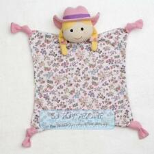 Organic Farm Buddy Suzie Sunshine Baby Blankie Comforter 100% Organic Cotton Fab