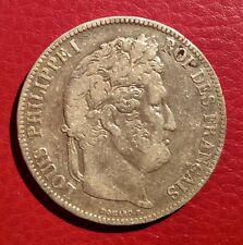 France -Louis Philippe - Jolie 5 Francs 1837 K