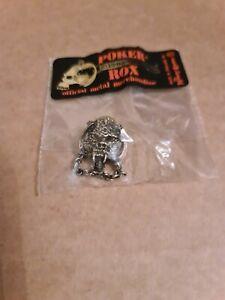 Motorhead Snaggletooth Alchemy, Poker Rox Pin Badge