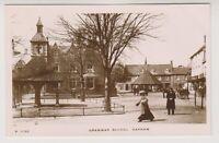 Rutland postcard - Grammar School, Oakham - RP (A2)