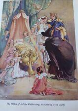 Sleeping Beauty & Other Tales BooK Rene Cloke Roger Lancelyn Green Ward 1956 DJ