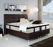 Boxspringbett DOMINGO SMITH 200x200 Hotelbett Luxusbett Amerikanisches Bett