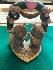Uniting Our Love - Rare Me To You Tatty Wedding Figurine / Cake Topper Ornament