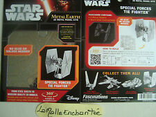 METAL EARTH 3D  KIT METAL A MONTER special forces tie fighter STAR WARS NEUF