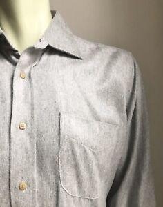 J. McLaughlin Shirt, Super-Soft Cloudy Gray, Medium, Exc Cond