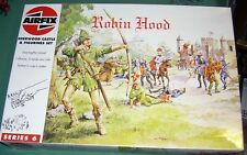 Airfix 1/72 HO Scale Robin Hood Sherwood Castle Complete with 2 sets of Figures