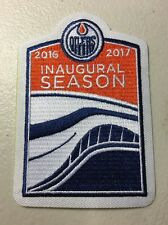 Edmonton Oilers 2016 - 2017 Inaugural Season At Rogers Place Jersey  Logo Patch