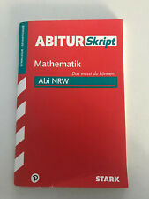ABITURSkript Mathematik Abi NRW