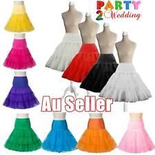 Retro 67-100cm Vintage 50s Tutu Petticoat Crinoline Rockabilly Tulle Underskirt