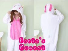 派對服 派對連身服 動物連身服 連身睡衣 白色兔仔連身服 Party Costume Animal 主題服 成人