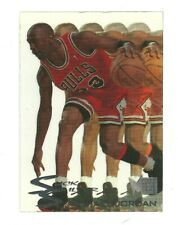 1995-96 Fleer Metal Michael Jordan Slick Silver Insert # 3