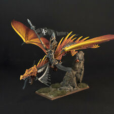 WARHAMMER AGE OF SIGMAR HIGH ELVES DRAGONLORD MAGNETISED PAINTED