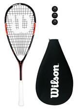 Wilson Whip 155 BLX Squash Racket + 3 Squash Balls RRP £140