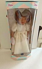 "New Diana Collection Euro Girl Doll 18"" Deluxe Dressed 41805 Travel Trunk Box"