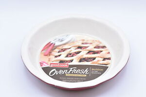 Good Cook Oven Fresh Stone Ware 9 - Inch Pie Pan