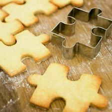 1Pcs Stainless Steel Cake Cookie  Cookie Cutter Mold Cookie Tool Puzzle Shape