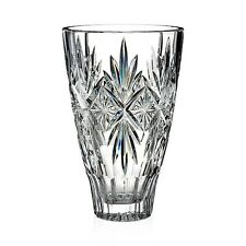 "Waterford Crystal Normandy Vase 10"" NEW IN THE WATERFORD CRYSTAL GIFT BOX"