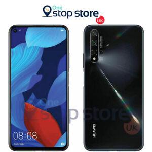 Huawei Nova 5T Dual Sim 128GB/6GB RAM 48MP Camera Unlocked Smart Phone - Black