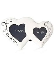 Mikasa Picture Frame Love Story Double Heart RRP £29.99 WEDDING BIRTHDAY