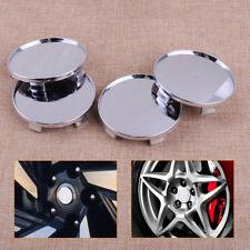 4pcs 68mm Chrome Car Auto ABS Plastic Wheel Center Hub Caps Covers Set (no logo)
