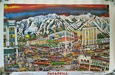 Roberto Gutierrez Mexican Chicano Artist  Pasadena Colorado Blvd Print Signed