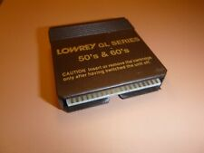 Lowrey Organ Software: 50's and 60's. for use with Gl series Lowrey organs