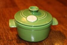Emile Henry made in France Small Single Person Casserole Dish with Lid Great