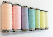 Gutermann Sulky Glowy Thread 100m Reels All Colours Glow In The Dark Embroidery