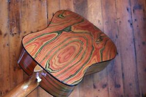 ∞ Unusual Rare Old USA Vintage Kay Acoustic Guitar c.1960 'Brazilian' rosewood ∞