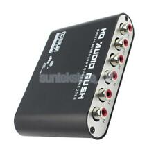AC3 DTS Digital to Analog HD Audio Decoder 5.1CH Optical SPDIF Coaxial Dolby