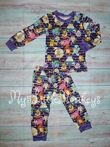 NEW Boutique Pokemon Girls Boys Long Sleeve Pajamas