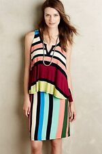 New Anthropologie Sold Out in Stores $128 Layered Davina Dress by Maeve XS,S