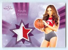 """KAYLA COLLINS """"2 COLOR SWATCH CARD"""" BENCHWARMER SIGNATURE SERIES 2015"""
