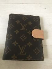 100%Authentic LOUIS VUITTON SMALL RING AGENDA Day Planner Cover Monogram SP0040