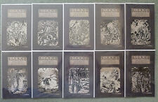 CINEMA PURGATORIO #1-10 ANCIENT TOME VARIANT SET..ALAN MOORE.AVATAR 1ST PRINT.NM