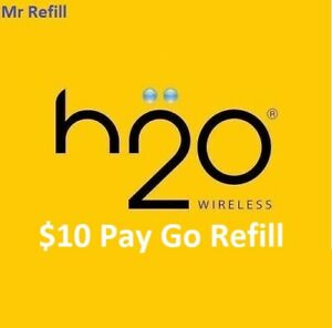 H2O $10 Pay Go Refill - fast & right