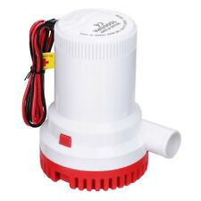 1500GPH 12V Electric Marine Submersible Bilge Sump Water Pump for Boat Yacht
