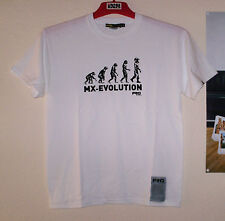 FRO Systems T-Shirt Tee Evolution Weiß Freeride MX Cross Motiv M Thor Ufo Fly SX