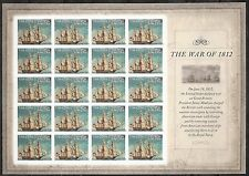 2012 #4703 Imperf The War of 1812: USS Constitution Without Die Cuts MNH